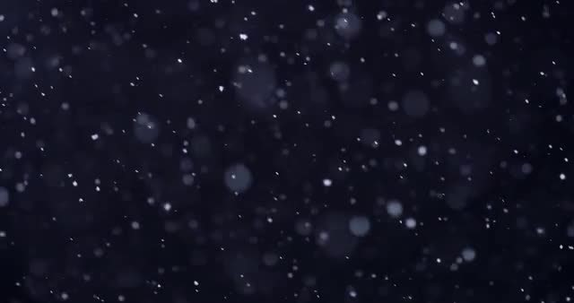 4k Snow 03: Stock Video