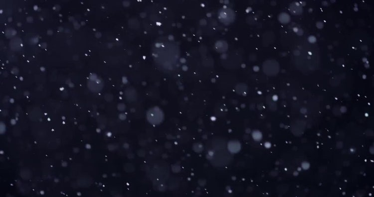 4k Snow 03: Stock Video