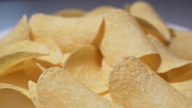 Potato Chips: Stock Video