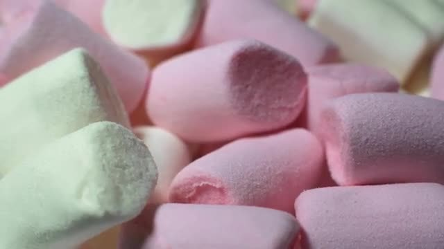 Colorful Marshmallows: Stock Video