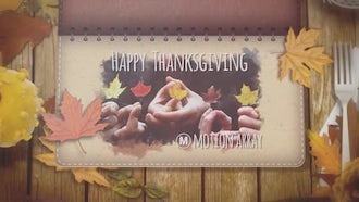 Thanksgiving and Autumn: After Effects Templates