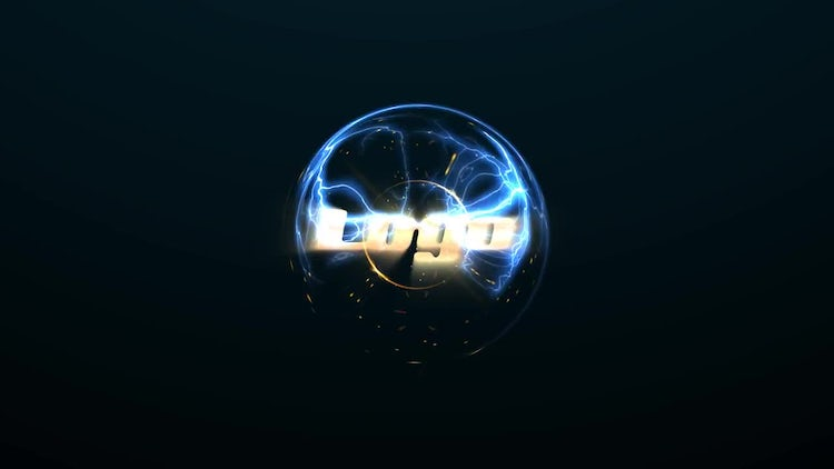 Energy Sphere Logo: After Effects Templates