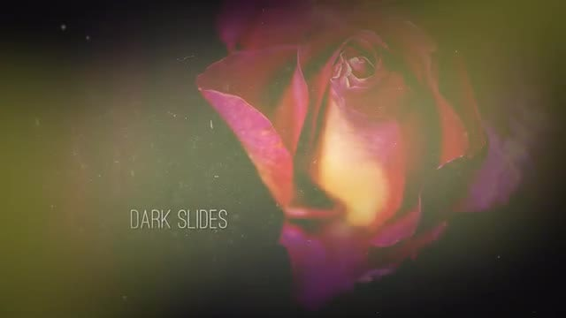 Dark Slides: After Effects Templates