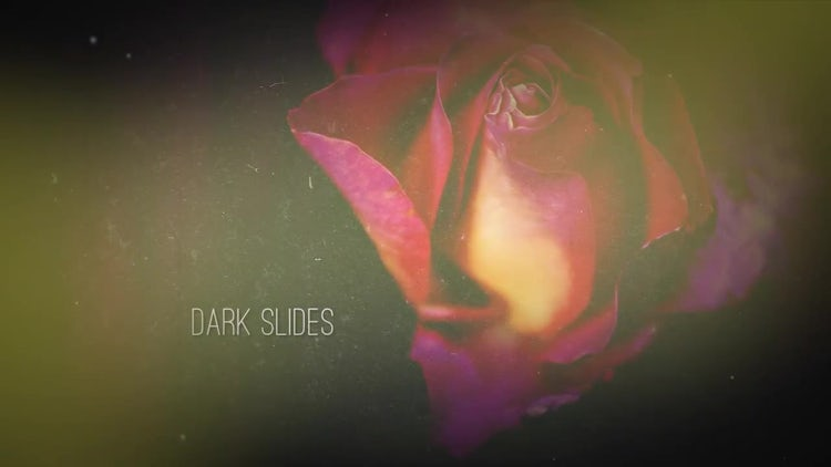 Dark Slides: After Effects Templates