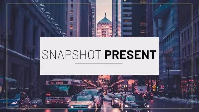 Snapshot Presentation: Premiere Pro Templates