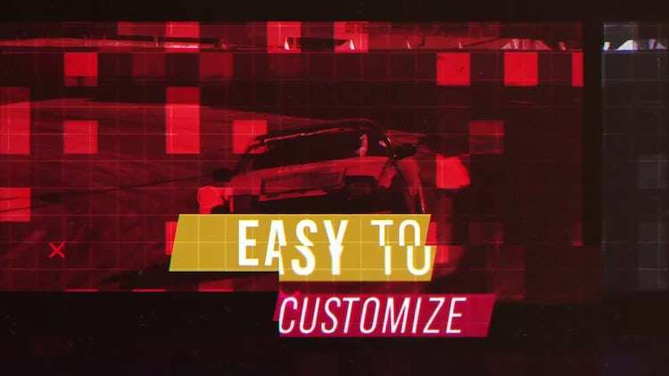 Extreme Slides: After Effects Templates