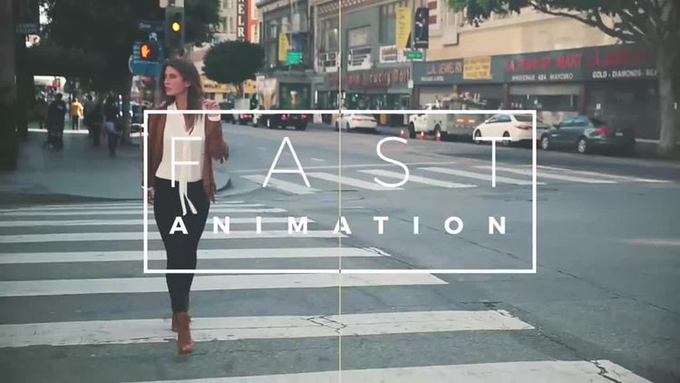 Fast Dynamic Slideshow: After Effects Templates