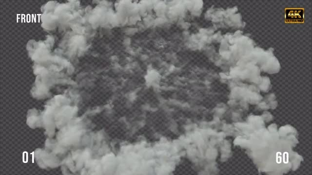 Smoke Shockwave Pack 04: Stock Motion Graphics