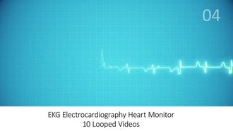 EKG Heart Monitor Pack: Motion Graphics