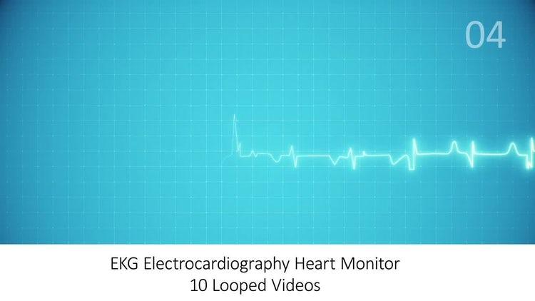EKG Heart Monitor Pack: Stock Motion Graphics