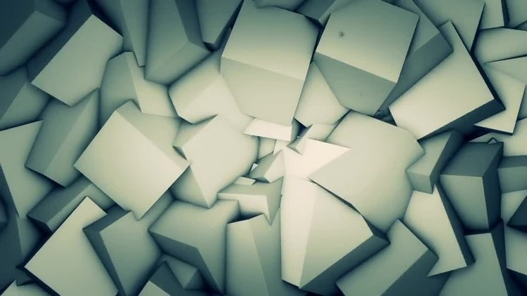 Abstract Cubes Vj Loop: Motion Graphics