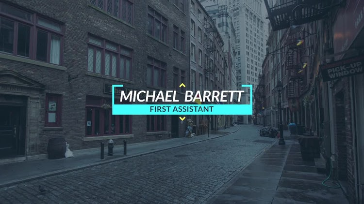 Сorporate Titles: After Effects Templates