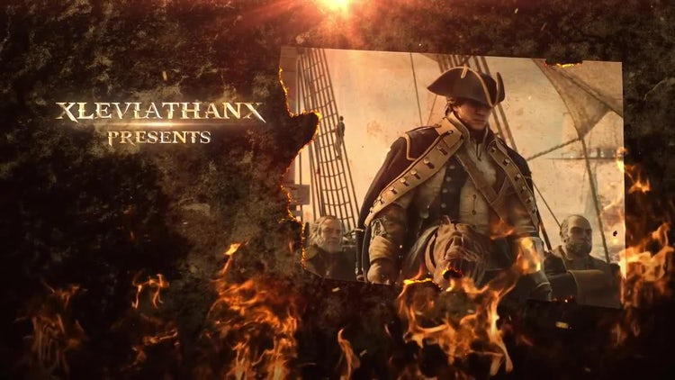 Fire Opening Titles: After Effects Templates