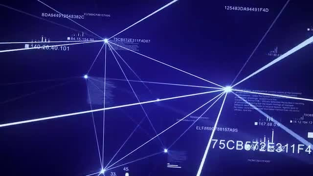 Blue Network: Stock Motion Graphics