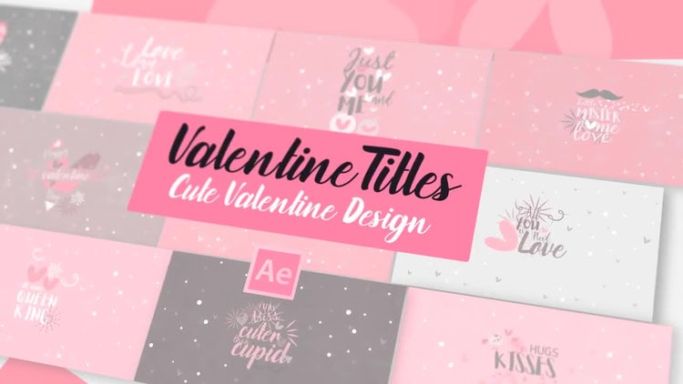 Neo Valentine SVGs Title: After Effects Templates