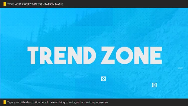 Trend Zone: After Effects Templates