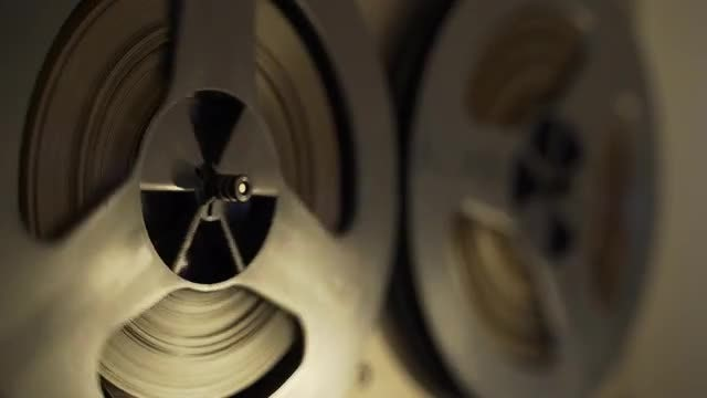 Reel To Reel Tapes: Stock Video