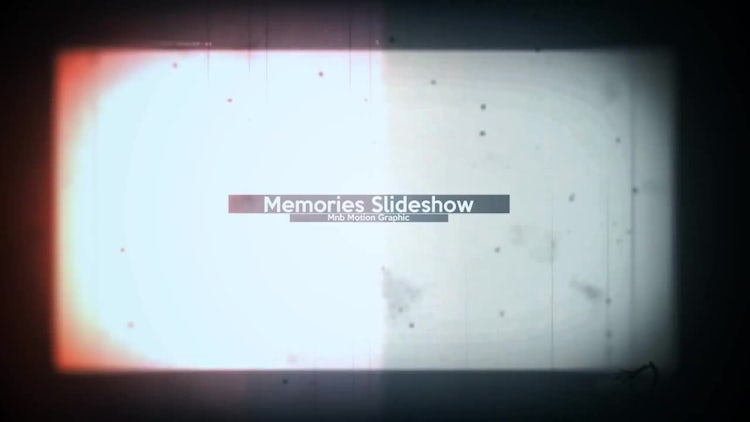 Memories Slideshow: After Effects Templates