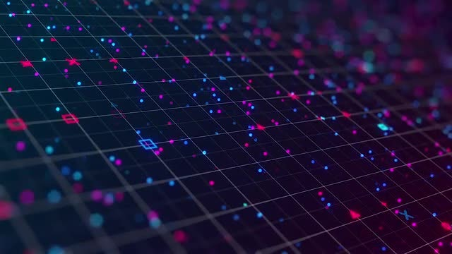 Abstract Background: Stock Motion Graphics