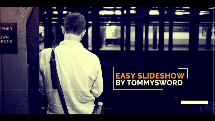 Easy Slideshow: After Effects Templates