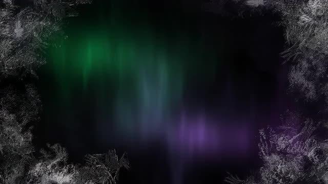Aurora 4K Background: Stock Motion Graphics