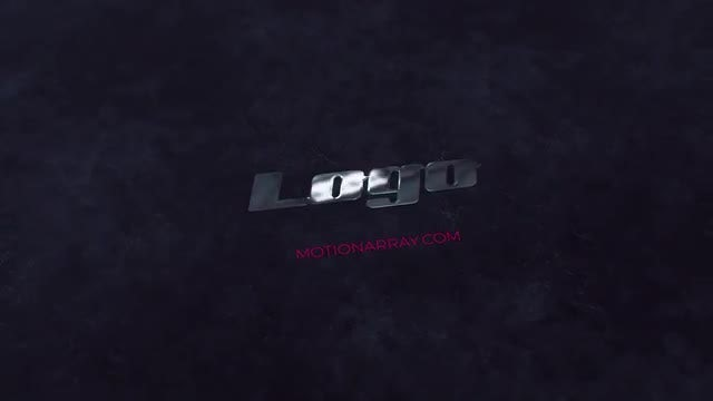 Elegant Polished Metal Logo: After Effects Templates