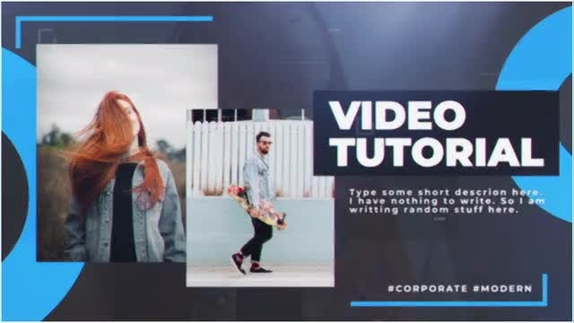 Big & Bold Corporate: After Effects Templates