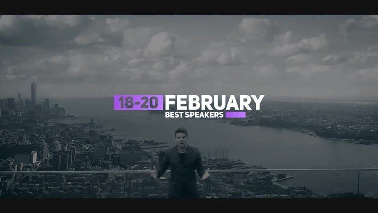 Event Promotion: After Effects Templates