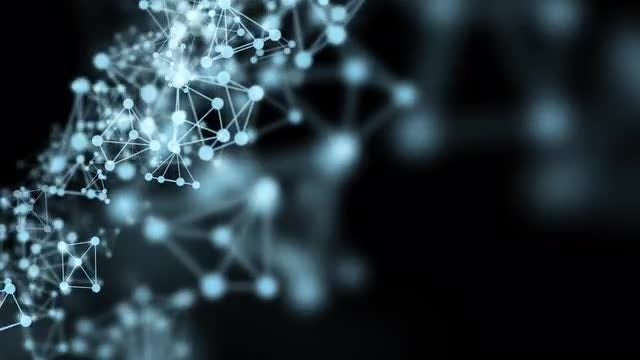 Motion Of Atoms: Stock Motion Graphics