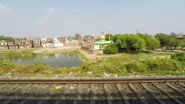 Railway In India: Stock Video