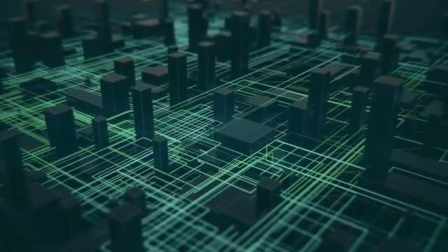 Digital City Connections Pack: Stock Motion Graphics