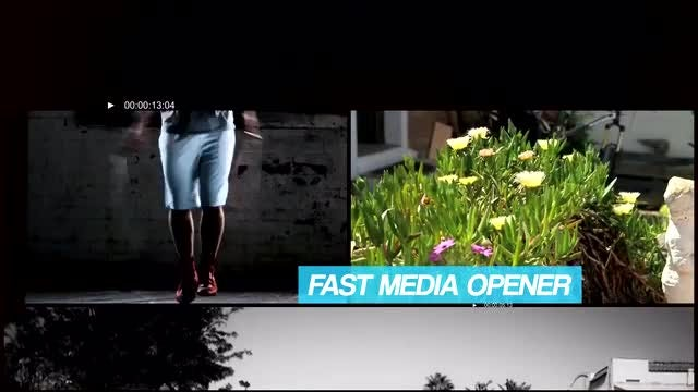 Fast Media Opener: After Effects Templates