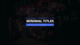 Minimal Titles v2: Premiere Pro Templates