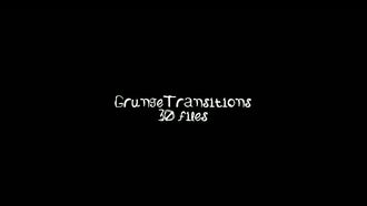 Grunge Transitions: Motion Graphics
