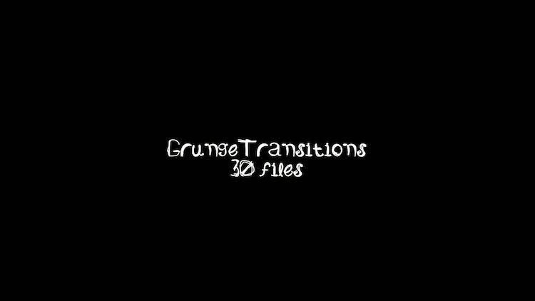 Grunge Transitions: Stock Motion Graphics