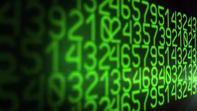 Numbers: Stock Motion Graphics