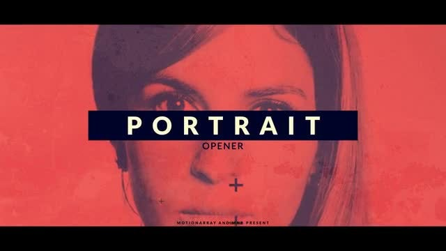 Portrait Opener: After Effects Templates