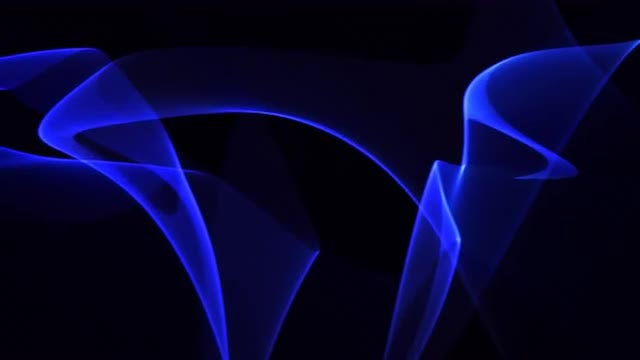 Blue Neon Waves Band 4K: Stock Motion Graphics