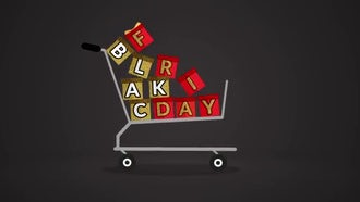 Black Friday Cart: Motion Graphics