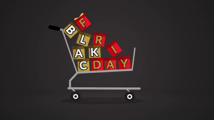 Black Friday Cart: Stock Motion Graphics