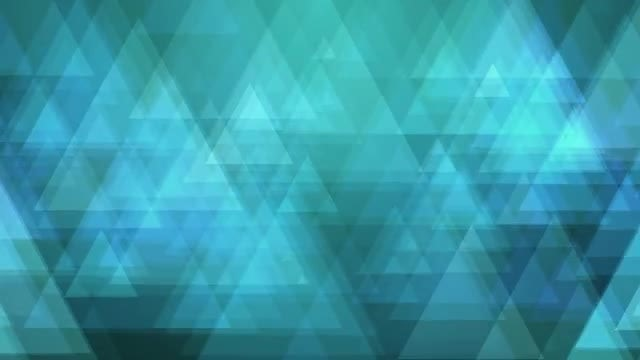 Blue Triangles : Stock Motion Graphics