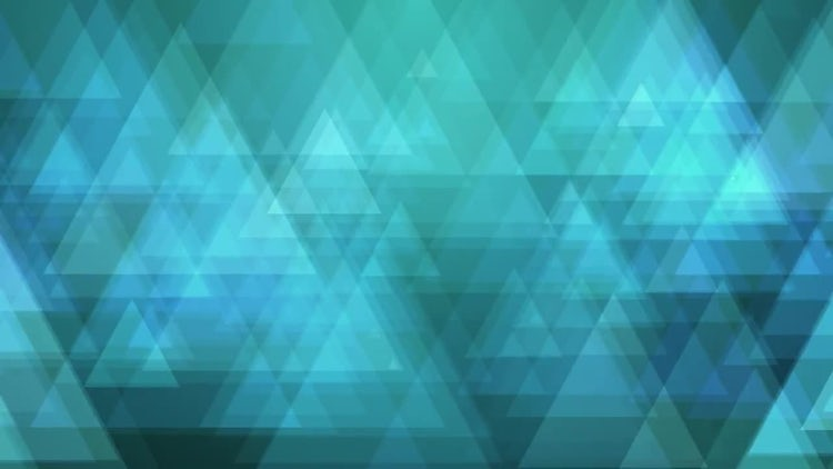 Blue Triangles : Motion Graphics