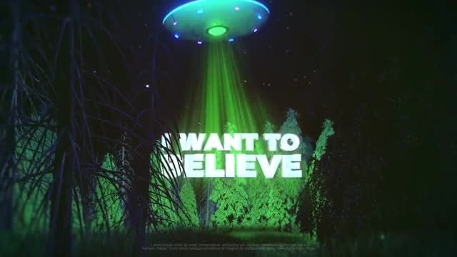 UFO Logo: After Effects Templates