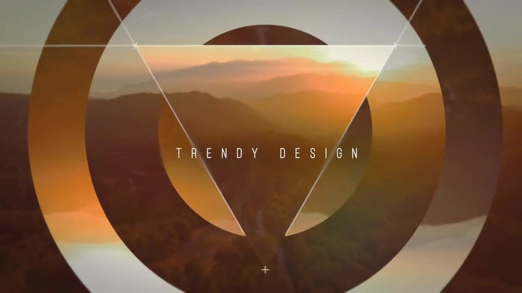 Abstract Geometry Slideshow: After Effects Templates