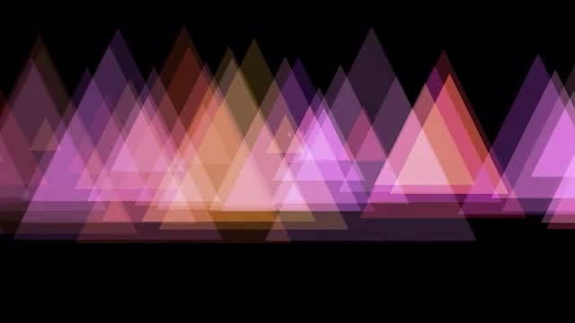 Triangles: Stock Motion Graphics