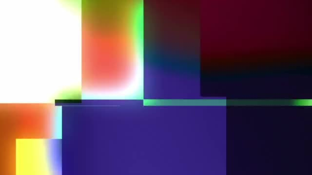 Abstract Light Flash Transitions: Stock Motion Graphics