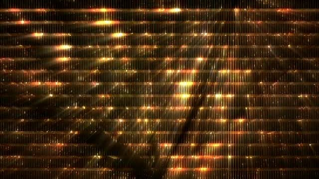 Glowing Glitter Background: Stock Motion Graphics