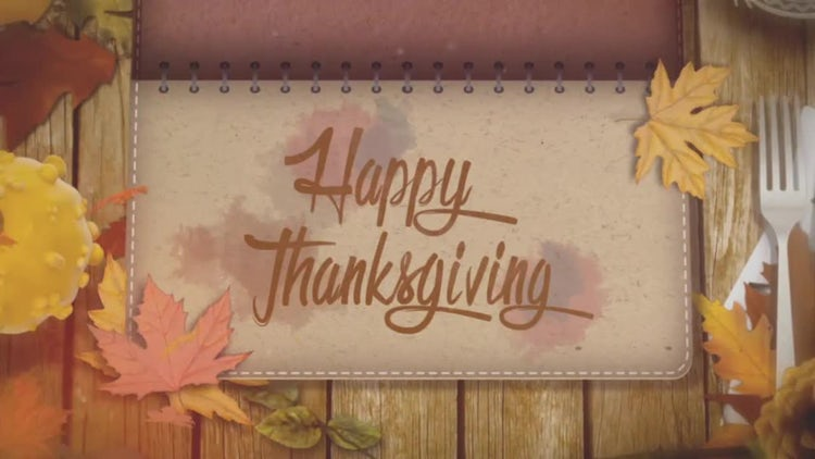 Thanksgiving Opener: Stock Motion Graphics