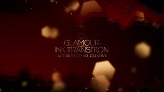 Glamour Ink Transition: After Effects Templates