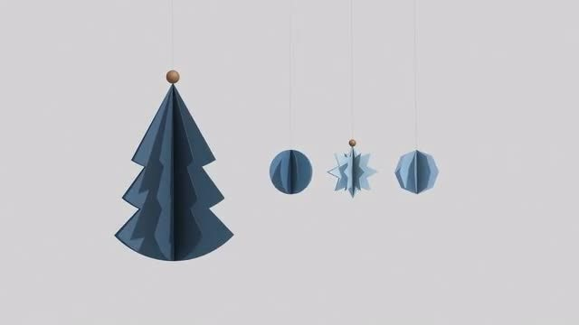 Merry Christmas : Stock Motion Graphics